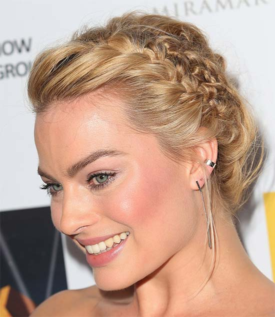 Margot Robbie Wedding Hairstyle