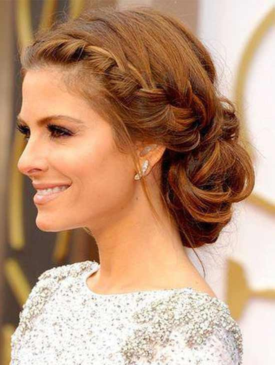 Maria Menounos Braided Hairstyle