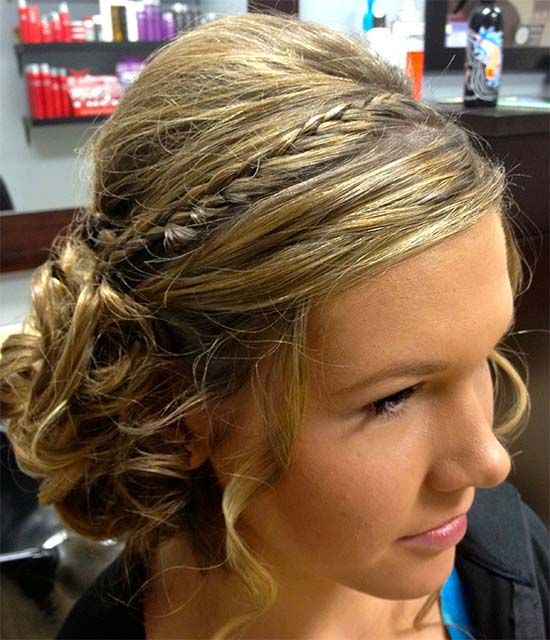 Formal Updos For Thin Hair: 30 Easy Updo Hairstyles For Medium Length Hair