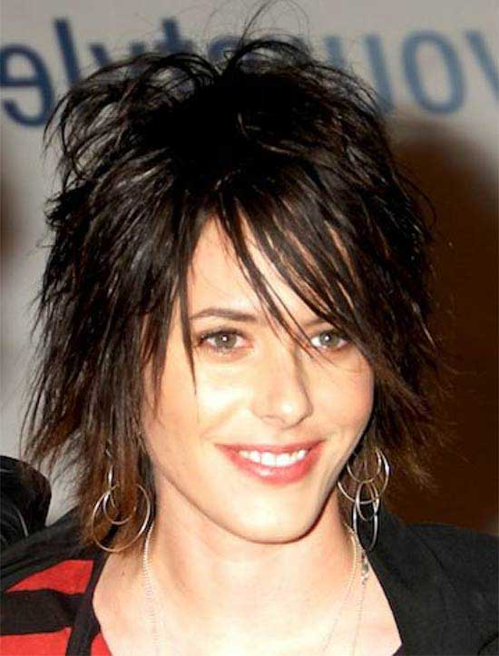 Meg Ryan Short Layered Shag Hairstyle