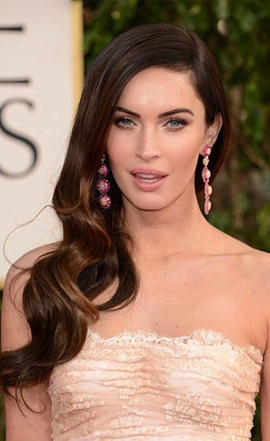 Megan Fox Wedding Hairstyle