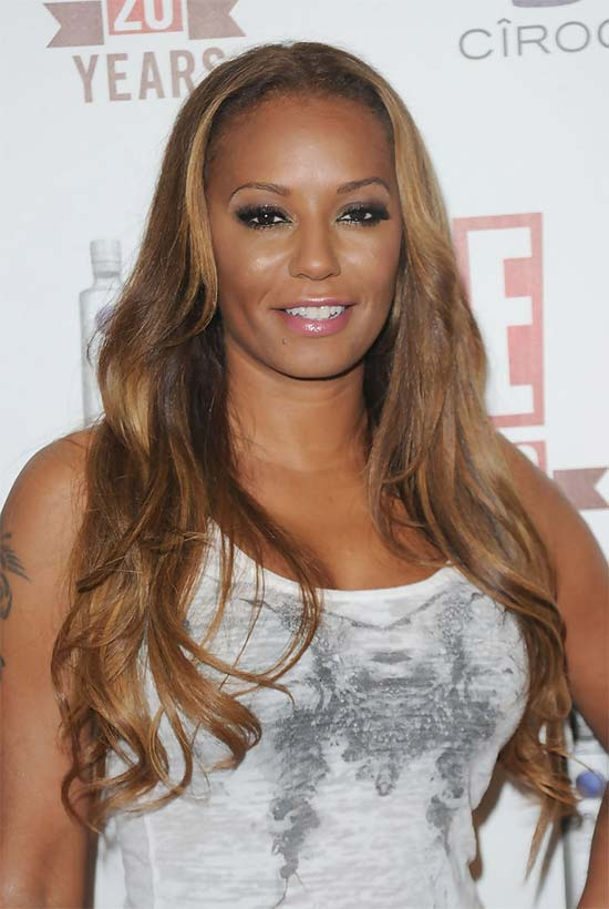 Melanie Brown Long Curls