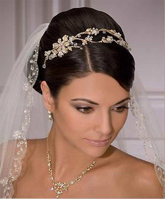 Milena Vergara Wedding Hair styles