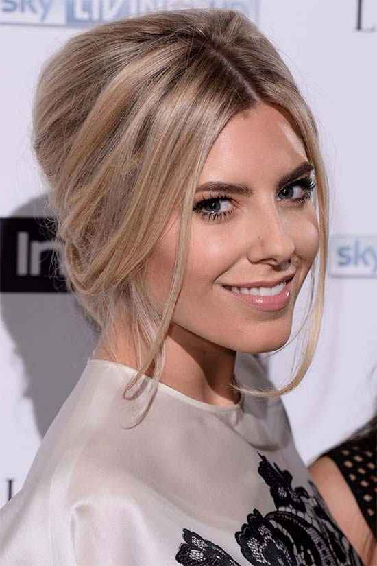 Mollie king Updo For Thin Hair