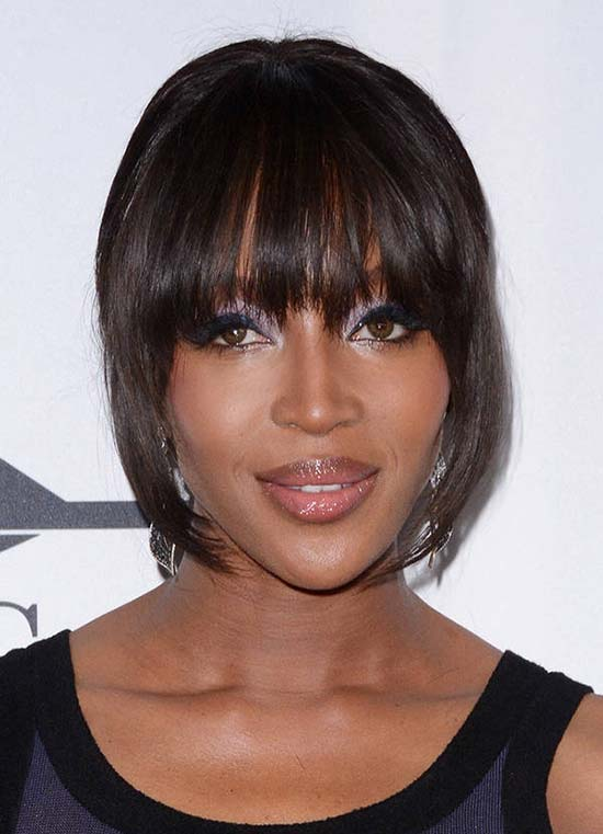 Naomi Campbell Hair Bangs 20 Best Hairsty...