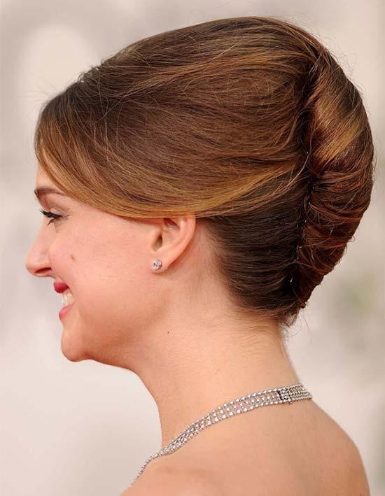Natalie Portman French Twist
