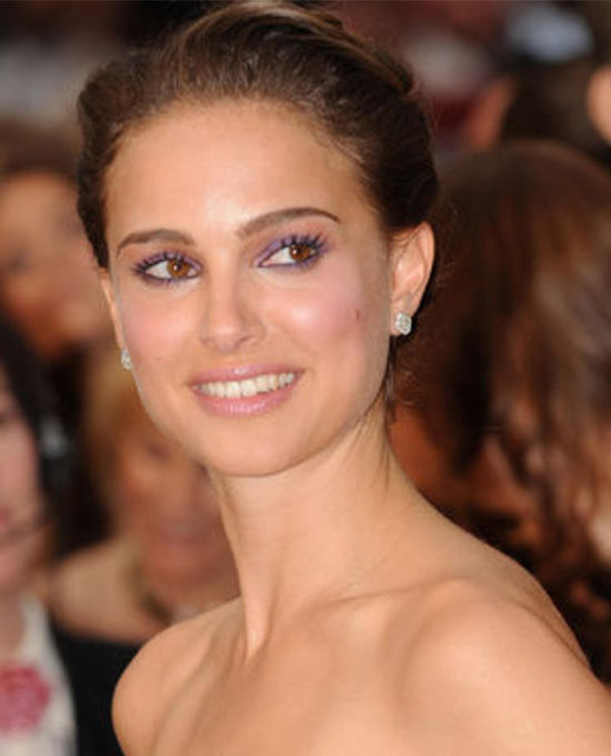 Natalie Portman Updos for Medium Length Hair