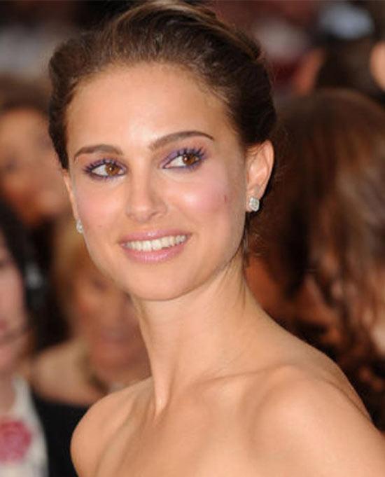 Natalie Portman Updos for Medium Length Hair