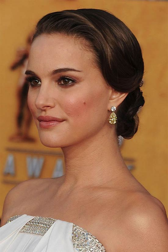 Natalie Portman Wedding Hairstyles