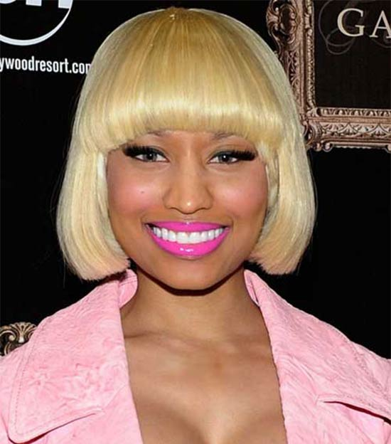 Nicki Minaj Bob Haircut for Black Women