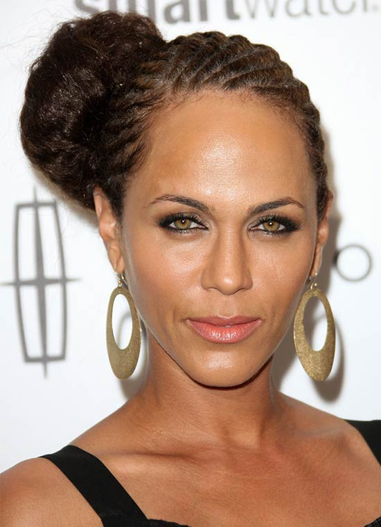 Nicole Ari Parker UPDO hair styles for Black Women