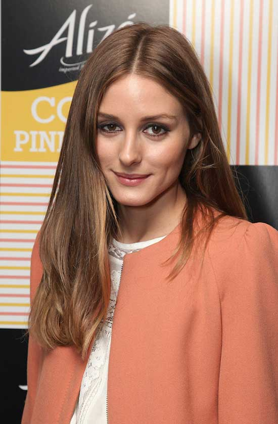 Olivia Palermo Long Straight Hair