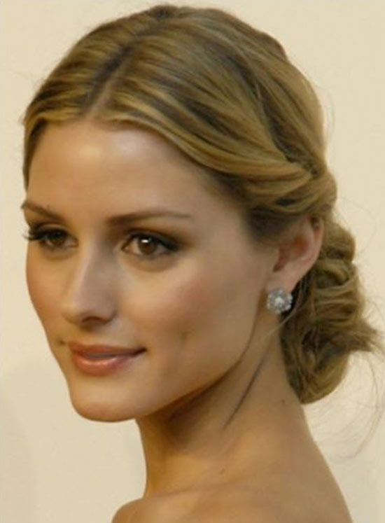 Olivia Palermo Updos for Medium Length Hair