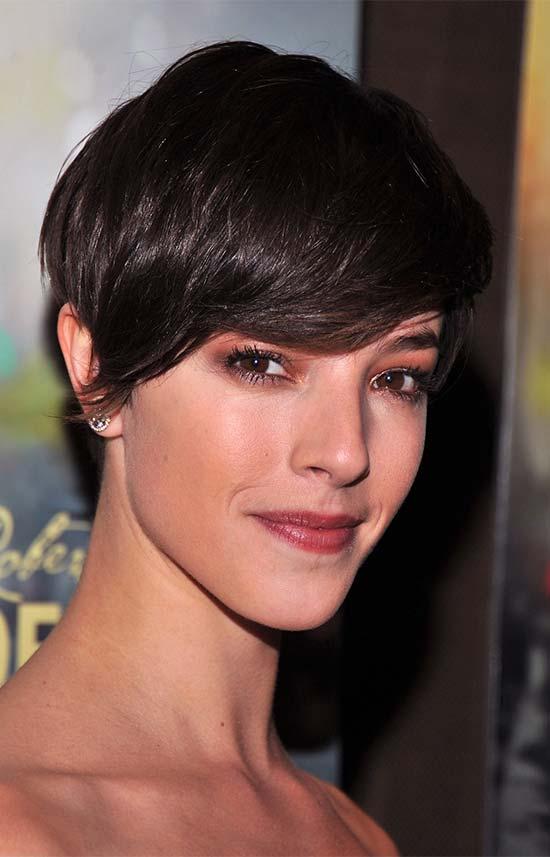 Olivia Thirlby Fringe Hairstyles