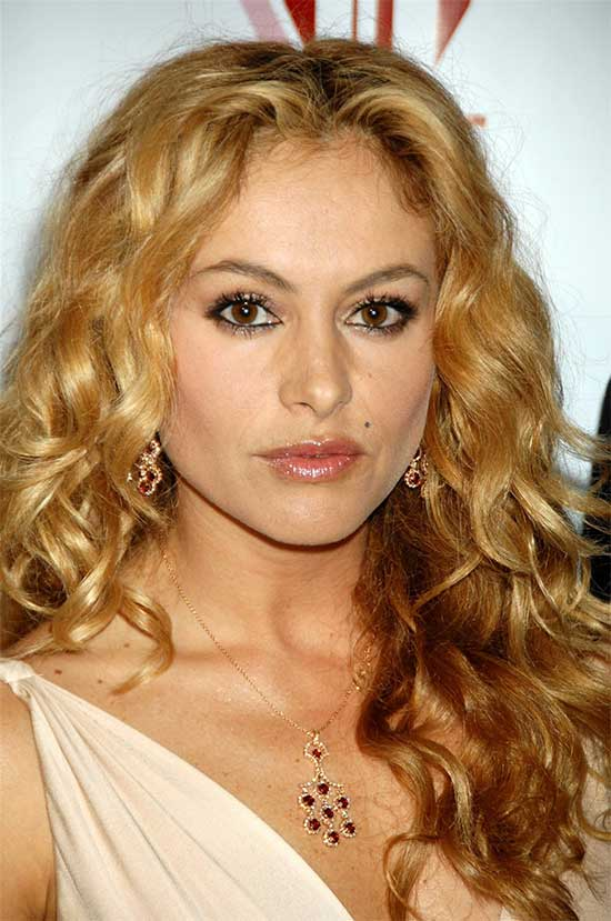 Paulina Rubio Long Curly hair Styles