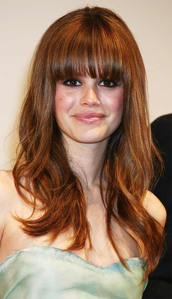 Rachel Bilson Long layerd Hair styles With bangs