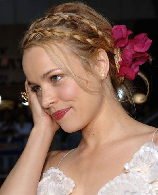 Rachel McAdams Wedding Hairstyle
