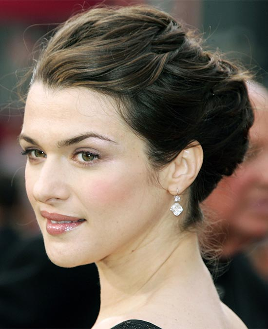 Rachel Weisz French Twist Updo