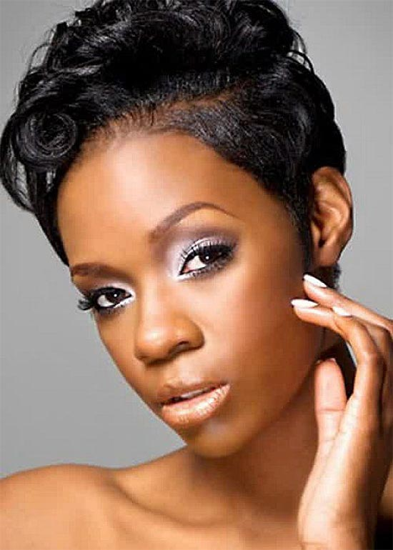 Rackley Howze Short pixie cut for black girl