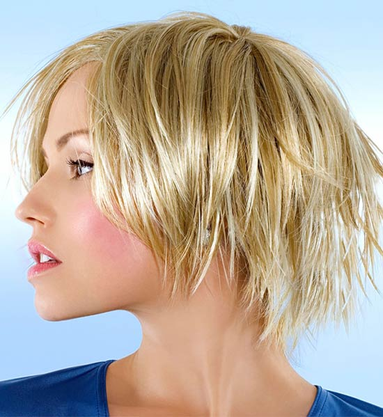 Rocker-Chic Short Sassy Shag Hairstyles