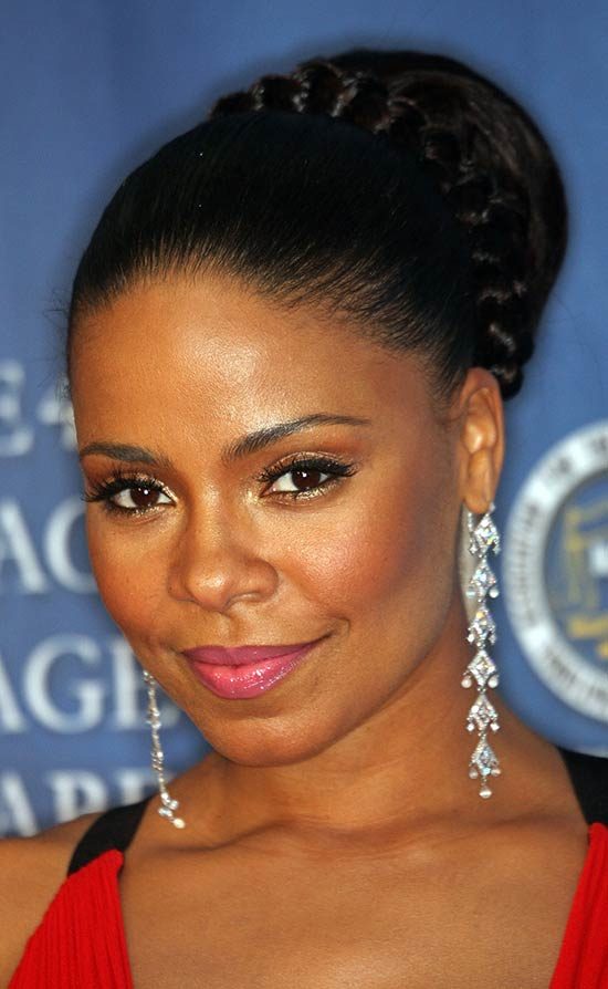 Sanaa Lathan UPDO hair styles for Black Women