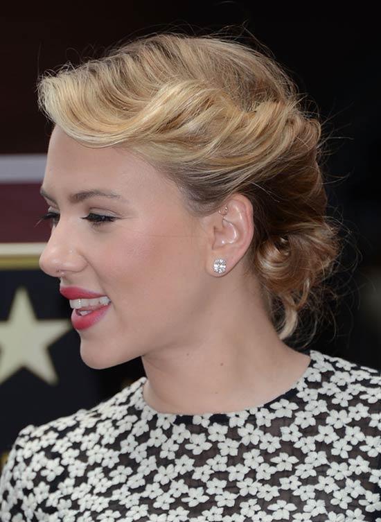 Scarlett Johansson Short Ombre Hair