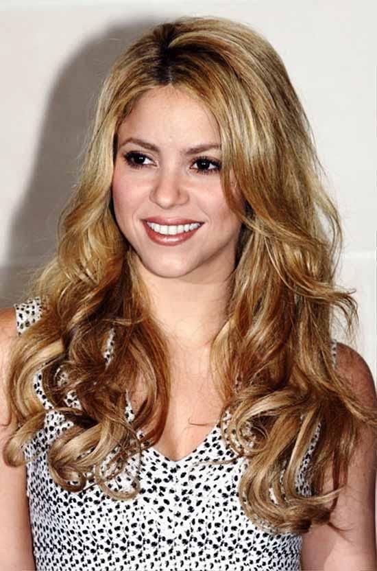 Shakira Shag Haircuts