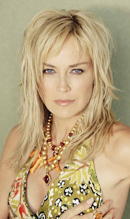 Sharon Stone long shag