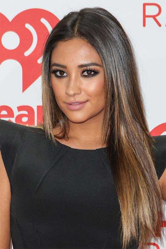 Shay mitchell Long Straight Hair