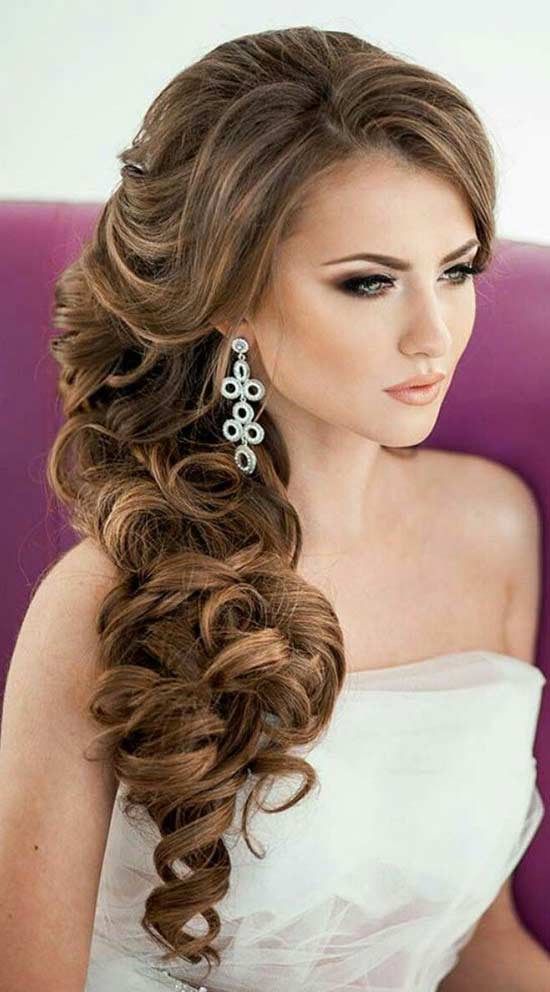 Sophia Kelly Wedding Hair styles