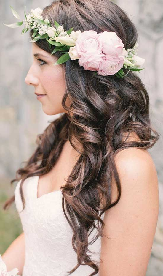 Stefania Sainato Wedding Hair styles