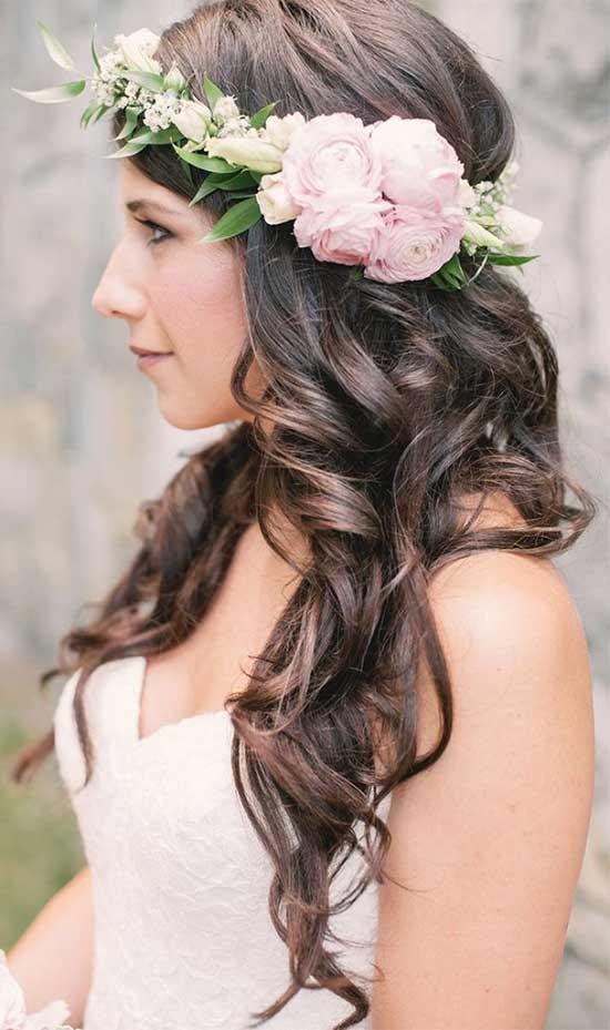 Stefania Sainato Wedding Hair styles