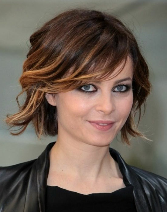 Stephanie Roach Short Ombre Hair