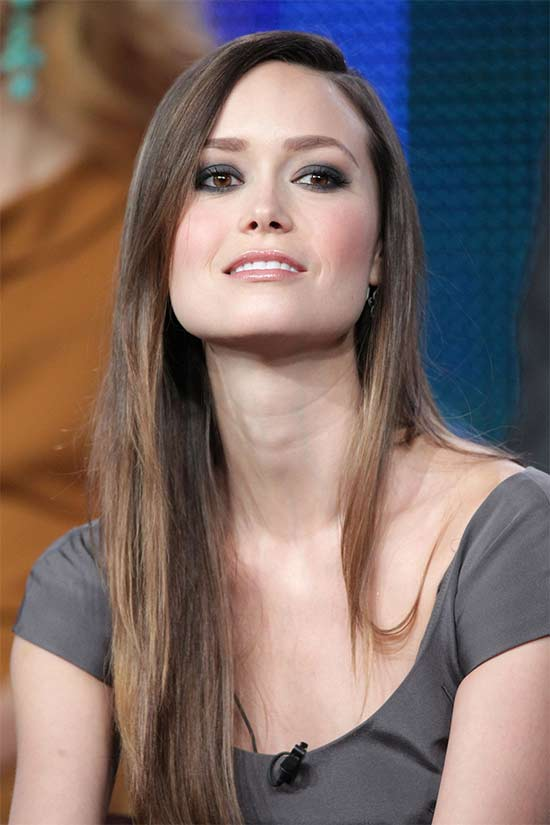 Summer Glau Fine Hair