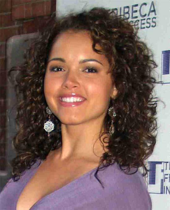 Susie Castillo curly hair