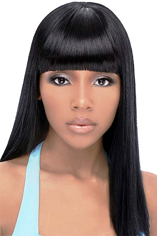 Most Beautiful Black Hairstyles Bangs