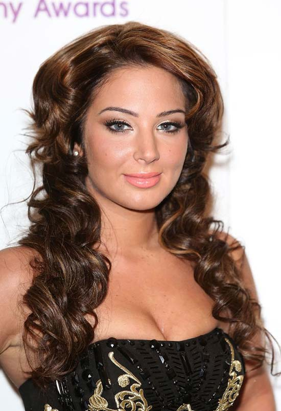 Tulisa Contostavlos Long Curly Hair Styles