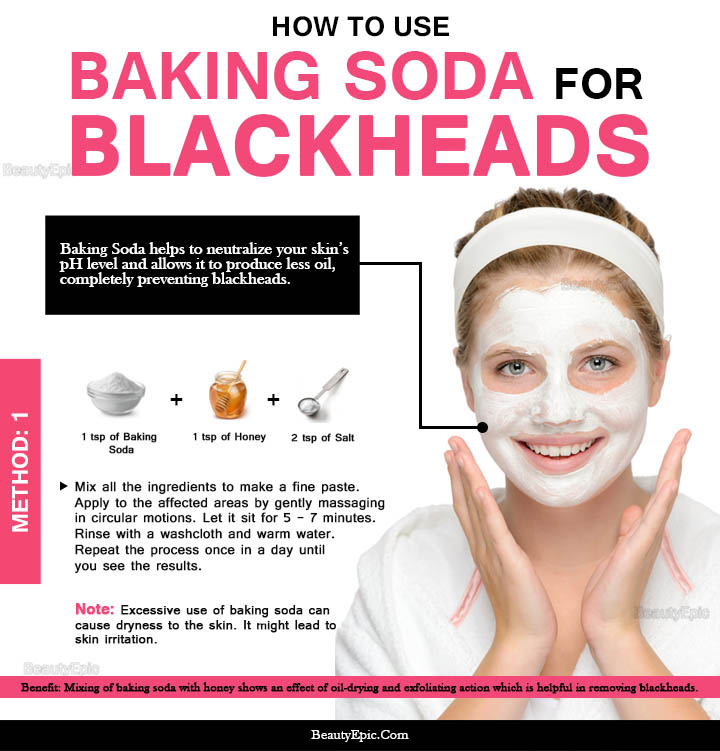 how effective is baking soda for blackheads. Black Bedroom Furniture Sets. Home Design Ideas