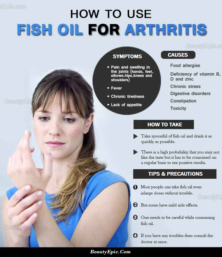 Fish oil for arthritis does it really work for Fish oil and arthritis