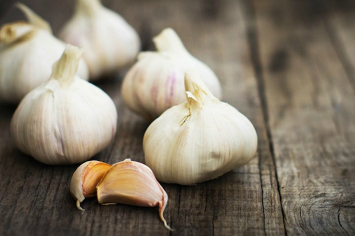 garlic for bv