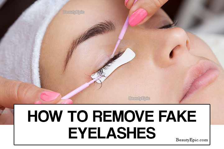 How to Remove Fake Eyelashes Safely at Home?