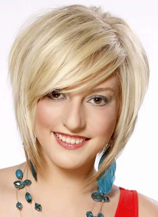jenny mccarthy Short Hairstyles with-Bang