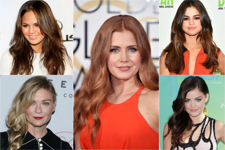 28 Stunning Long Hairstyles for Round Faces That You Can Try Today