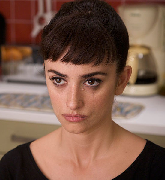 penélope cruz Short Hair with Bangs