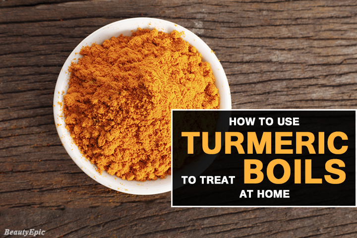How to Use Turmeric to Treat Boils?