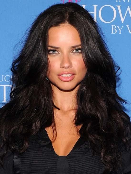 Adriana Lima Curly HairFit