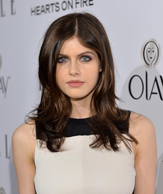 Alexandra Daddario Short Brown Hairstyles