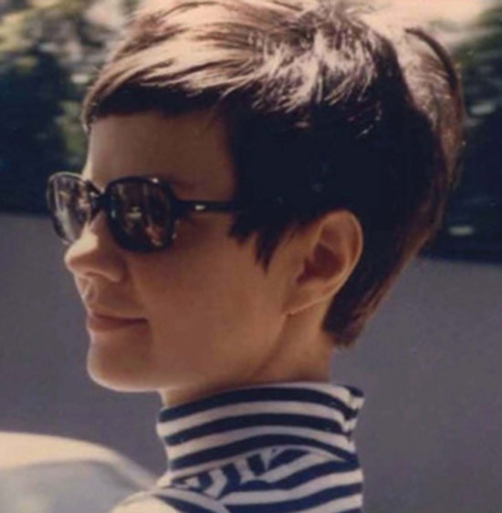 Audrey Hepburn Long Pixie Hairstyle