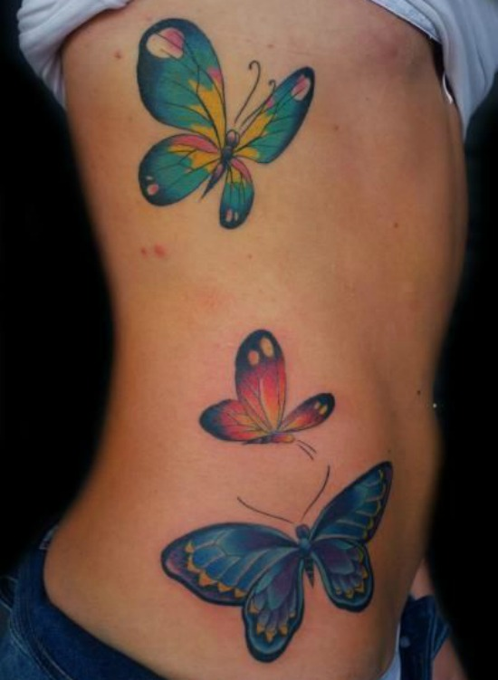 Body Butterfly Tattoo