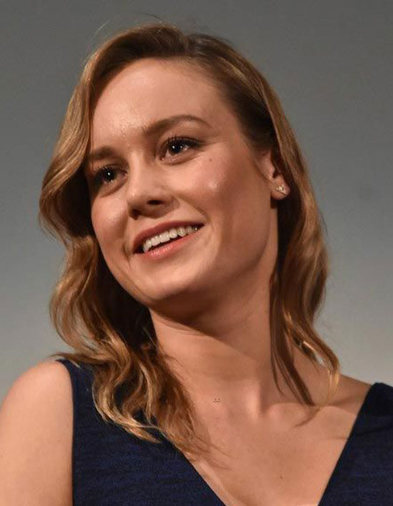 Brie Larson Short Brown Hairstyles